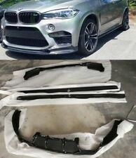 BMW F85 X5m Carbon BODYKIT front lip side skirts rear diffuser (Three D style)
