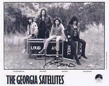Georgia Satellites signed promo picture by Dan Baird