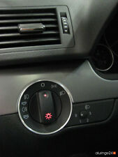 AUDI a4 b6 b7 8e Cabrio 8h aluring ALLUMINIO interruttore della luce QUATTRO S-LINE s4 rs4 SPORT