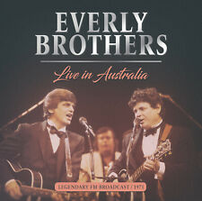 THE EVERLY BROTHERS New Sealed 2019 LIVE 1971 AUSTRALIA CONCERT CD