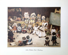 Cat's Academy by Louis Wain - Open edition print - Cats