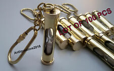 Nautical Brass Marine SANDTIMER Key Chain Amazing Key Ring Lot Of 100 Pcs Gift..