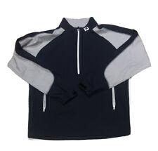 fj golf Pullover Footjoy Navy And Grey Medium
