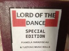 LORD OF THE DANCE  BRAND NEW !!  PIANOLA  PLAYER PIANO ROLL
