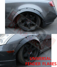 BLACK Universal JDM Fender Flares Wide Wheel Arch UNPAINT PP -No Hardware BODY K