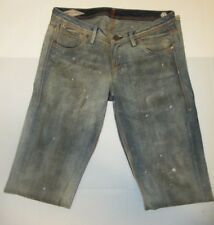 Sinclair MFGRP Womens Size 29 Blue Distressed The Workers Dirty Look Jeans 1715