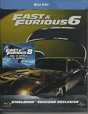 Fast and furious 6 (2013) s.e. Blu Ray metal box