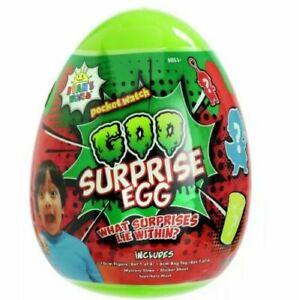 Ryans World Goo Surprise Egg Slime Exclusive  ( NEW 2020 )