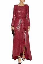 Diane Von Furstenberg DVF 'delani' sequin dress gown BNWT £2000 size US4 UK8