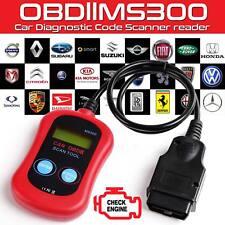 Car Engine Fault Diagnostic Code Reader Scanner Reset Tool OBD II CAN BUS EOBD