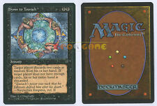 MTG MAGIC - Hymn to Tourach - Inglese Fallen Empires MINT - 1994