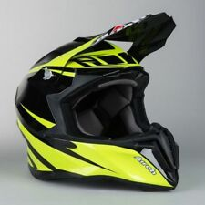 New Airoh Adult S 55-56cm Twist Freedom Gloss Yellow Helmet MX Enduro SALE Small