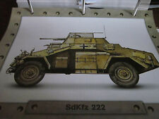 Radpanzer SdKfz 222 Panzerspähwagen 1937 Deutschland