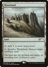 Terres Dévastées PREMIUM / FOIL JUDGE GIFT  - Wasteland -  - Magic Mtg
