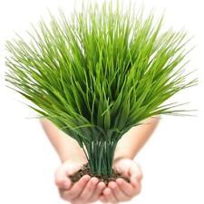 Artificial Flowers Fake False Outdoor Plants Grass Garden 7-Pronged Spring Grass