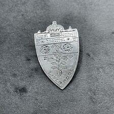 More details for vintage royal southern hospital liverpool sterling silver badge brooch 1923