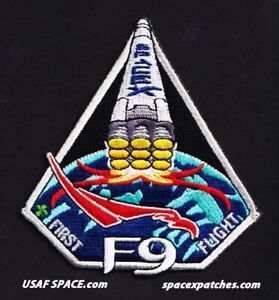 Authentic SPACEX - FALCON 9 - F9 - FIRST FLIGHT - SPACE Launch & Mission PATCH