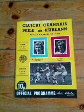 GAA 1974 All Ireland SFC final Dublin v Galway official match programme
