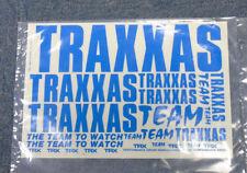 Vintage Retro Traxxas TRX Equipo Azul Coche Rc Camión Buggy ADHESIVOS Auto