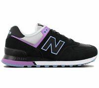 New Balance WL574 Damen Sneaker Schwarz WL574SAU 574 Freizeit Sport Schuhe NEU