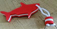 Hai rot Schlüsselanhänger Anhänger schwimmend  Boot  Wassersport Schwimmbad