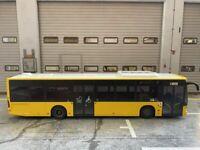 Mercedes Benz Citaro BVG Bus Berlin Abschied vom Flughafen Tegel TXL Rietze 1:43
