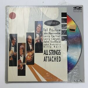 Tal Farlow All Strings Attached CD Video LaserDisc Jazz Visions