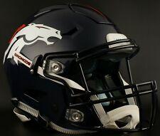 DENVER BRONCOS NFL Riddell SpeedFlex Full Size Authentic Football Helmet