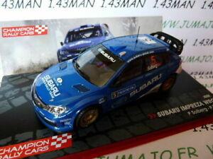 RF4 1/43 IXO Rally Champions Finland: Subaru Impreza WRC 2008 P.Solberg