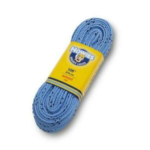 """Howies Royal Sky Blue 120"""" Ice Hockey Waxed Skate Laces Street Inline Roller"""