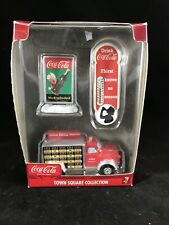 Coca Cola Town Square Collection Truck, Sign, Thermometer