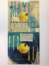 """MADONNA SET OF 2 RARE 12"""" US PROMOS -  EXPRESS YOURSELF + KEEP IT TOGETHER"""