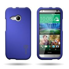 For HTC One Remix / Mini 2 Blue  - Slim Case Hard Rubber Shell Phone Cover