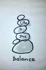 Life is Good Womens Large  Balance SS