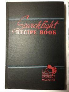 SEARCHLIGHT RECIPE BOOK Cookbook Household Magazine Vintage 1944