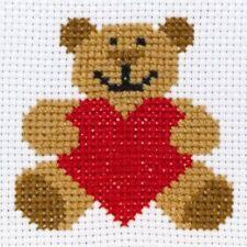 Anchor Beginners 1st Cross Stitch Kit - Ed Teddy Bear 10004