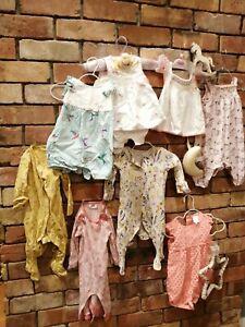 Designer Baby girl clothes 3-6m months bundle used, ted baker, jasper conran,