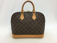 "Auth Louis Vuitton Monogram Vintage Alma Hand Bag 0G150050n"""