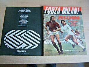 FORZA MILAN!=N°2 1975=ZECCHINI=BIASIOLO E ANQUILETTI=SERIE A