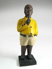 Statuette colon Côte d'Ivoire homme avec pipe  /  Man with pipe Baule colon