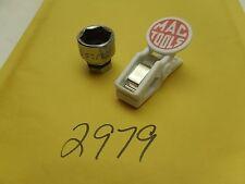 """2979 )  MAC TOOLS THRU SOCKET 3/8"""" DRIVE 11/16"""" & PLASTIC MAS CLIP"""