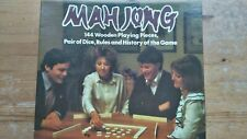 Vintage 70's Mah Jong Game By Michael Stanfield.Complete & very good condition