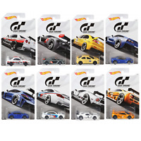 Hot Wheels FKF26 Gran Turismo Set of 8 Diecast Toy Cars