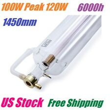 EFR 100W (Peak 120W) CO2 Laser Tube 1450mm RECI Replacement for Laser Engraver
