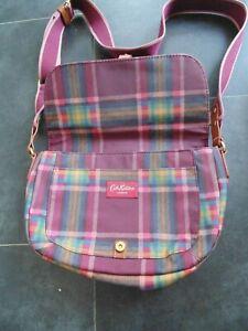 Cath Kidston Tartan Satchel / Shoulder bag