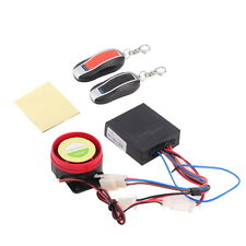 Motorcycle Bike Anti-theft Security Alarm System Remote Control Engine Q9