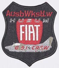 Luftwaffe Aufnäher Patch AusbWkstLw Husum Fiat G91 + Crew ........A4236