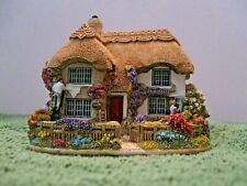 """Lilliput Lane Cottages L2518 """"Spring Cleaning"""" Mint in original box with deed."""