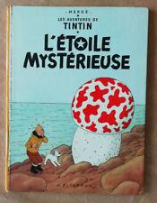 Tintin; L'Etoile Mystérieuse HERGE éd Casterman B 39 1970/71