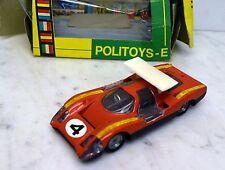 564 POLITOYS 1:43 Panther Bertone, rosso, in originalbox